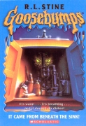 It came from neneath the sink - r.l.stine