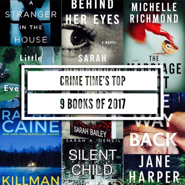 Crime Time's Top 9 Books of 2017